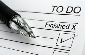 3 дела, в которые надо сделать до конца.